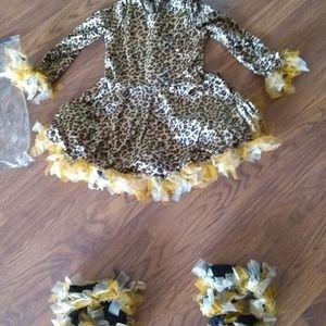 Girls Cheetah Costume